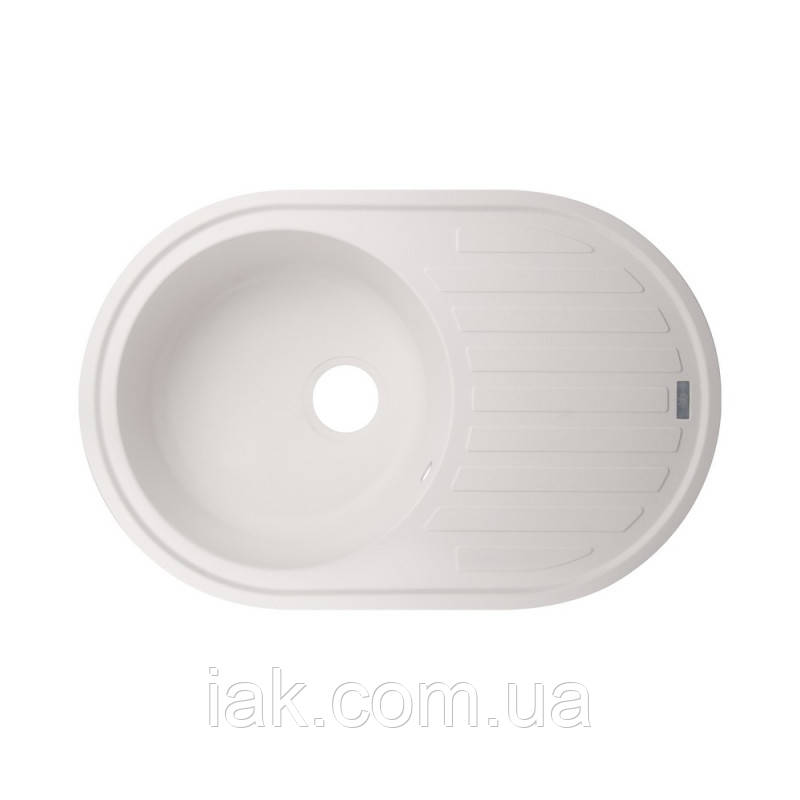 Кухонная мойка GF 780x500/200 WHI-01 (GFWHI10780500200)