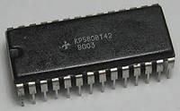КР580ВТ42 (аналог Intel i8253)  мультиплексор и счетчик восстановления динамической памяти. DIP28