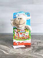 Подарочный набор от Kinder Maxi Mix с мягкой игрушкой