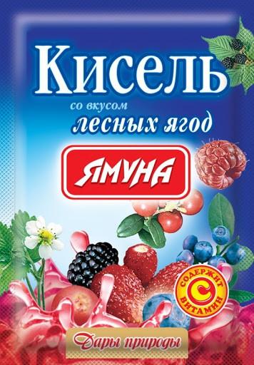 Кисель вкус Лесных ягод 65 грамм