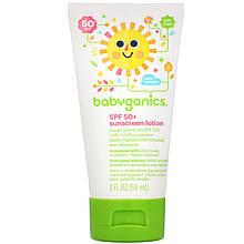 """Детский солнцезащитный лосьон BabyGanics """"Sunscreen Lotion SPF 50+"""" (59 мл)"""