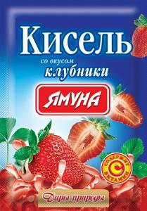 Кисель вкус Клубника 65 грамм