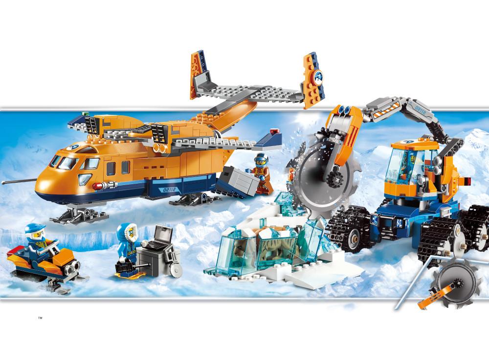 """Конструктор JVToy """"Арктична експедиція"""", серія """"Чудове місто"""" ( 24011)"""