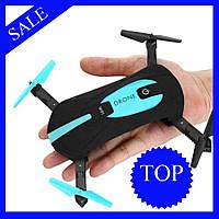 Селфи дрон портативный JY018 складной Mini для селфи, Квадрокоптер с Wi-Fi-камерой