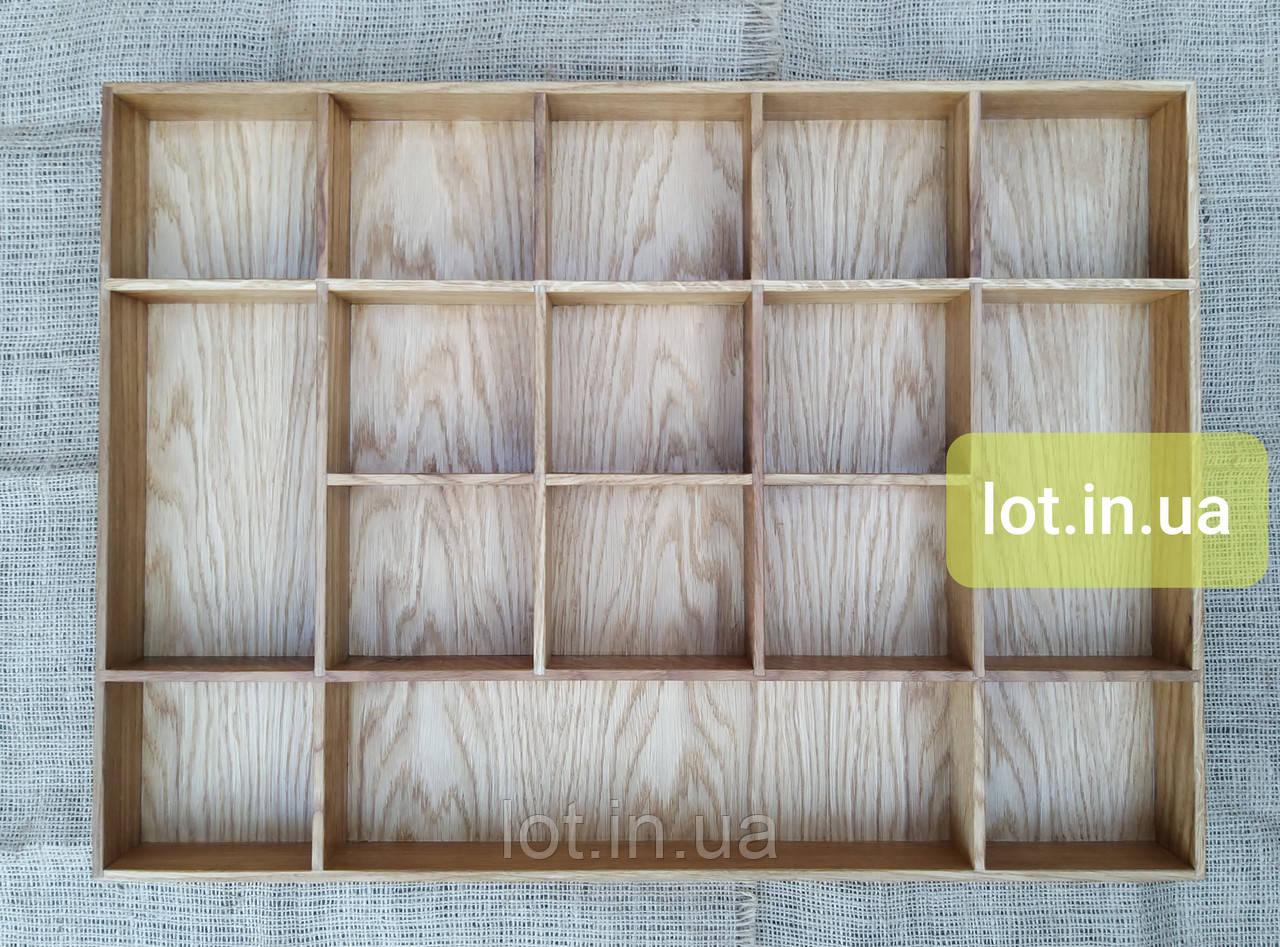 Органайзер для аксессуаров из дуба Lot 116 1000х500 (индивидуальные размеры)