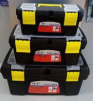 """Ящик для інструментів 3 в 1 10""""+12,5""""+16,5"""" LTL13008 (в комплекті 3 шт)"""