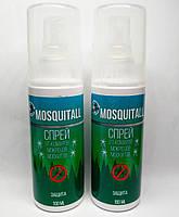 Москитол Mosquitall спрей от комаров, москитов, мокрецов 100 мл 3 часа