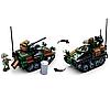 Конструктор Sluban M38-B0750 Army Армия Бронетранспортёр 245 деталей, фото 3