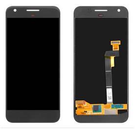 Дисплей для Google Pixel с сенсорным стеклом (Черный) Оригинал