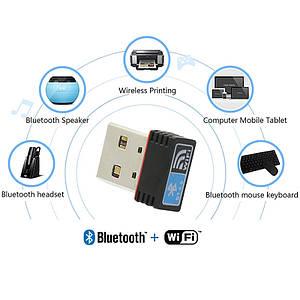 WiFi + Bluetooth адаптер в одном корпусе mini REALTEK RTL8723B