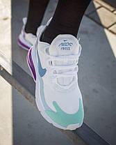 Кроссовки Nike Air Max 270 React/ Женские, мужские / Кросівки Жіночі/чоловічі /Найк/ Текстиль р 36-40, фото 3