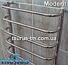 Полотенцесушитель Modern 8 /850х500 в ванную комнату. П-образная перемычка; Круглая н/ж труба 20 и 32. TAURUS, фото 3