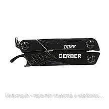 Мультитул Gerber Dime Micro Tool чорний блістер, фото 3