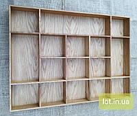 Органайзер для аксессуаров из дуба Lot 116 800х400 (индивидуальные размеры), фото 1