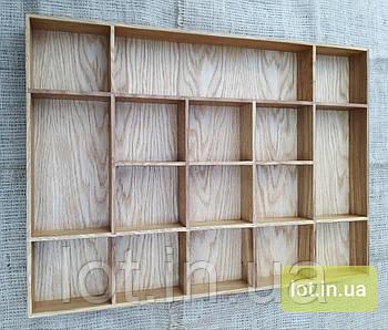Органайзер для аксессуаров из дуба Lot 116 800х400 (индивидуальные размеры)
