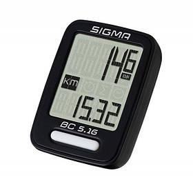 Велокомпютер Sigma Sport BC 5.16 Black SKL35-187601