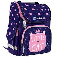 Рюкзак школьный каркасный Smart PG-11 Little Cat (558049)