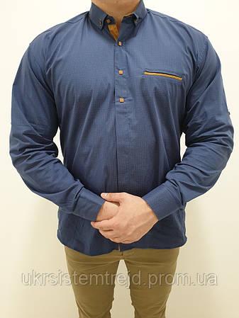 Рубашка мужская  EMRE узор
