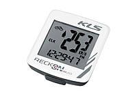 Велокомпютер бездротовий Kls Reckon WL 9 White SKL35-187495
