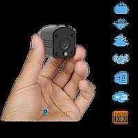 Wi-Fi мини камера Marlboze MINI6 FullHD 1080p с датчиком движения и ночной подсветкой