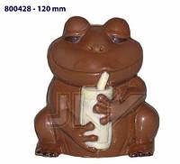 Форма для шоколада 3D — Лягушка с бокалом