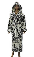 Халат жіночий пухнастий (леопард). Туреччина. Polar., фото 1