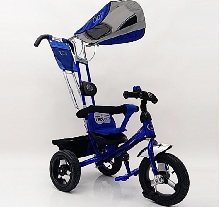 Велосипед трехколесный Lex-007(12/10) Airwheels Синий