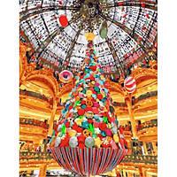 Картина по номерам Новый год в Галерее Лафайет 40*50 см (GX26240)