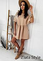 Свободное летнее платье  из софта