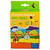 Dexshell Children ѕоскѕ orange M водонепроникні Шкарпетки для дітей помаранчеві, фото 4