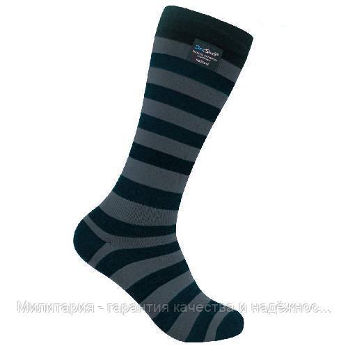 Dexshell Longlite Grey M Шкарпетки водонепроникні