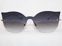 Очки в стиле Fendi 17056 золото черный