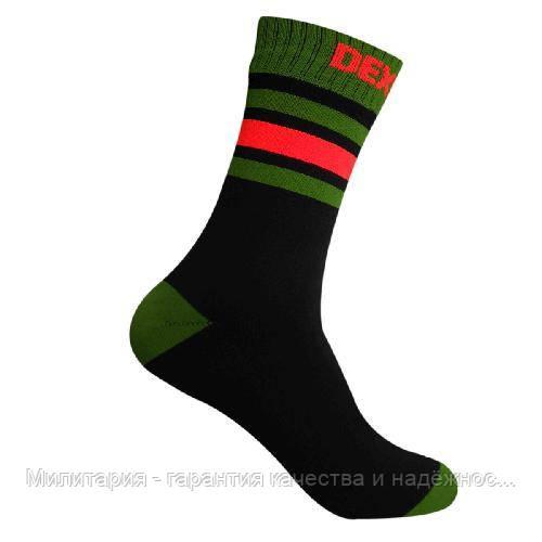 Dexshell Ultra Dri Sports Socks L Шкарпетки водонепроникні  з помаранчевою смугою