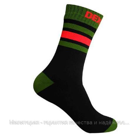 Dexshell Ultra Dri Sports Socks L Шкарпетки водонепроникні  з помаранчевою смугою, фото 2