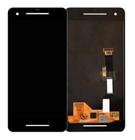 Дисплей для Google Pixel 2 с сенсорным стеклом (Черный) Оригинал