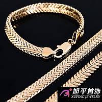 ЮВЕЛИРНАЯ БИЖУТЕРИЯ (позолота): серьги, кольца, браслеты, цепочки
