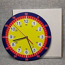 Обучающие настенные часы