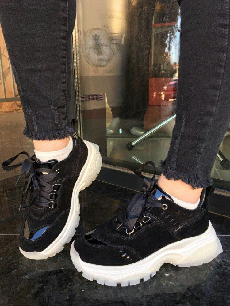 Чорні кросівки INSHOES