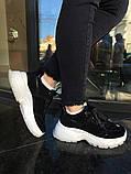 Чорні кросівки INSHOES, фото 2