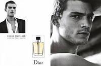 Мужская туалетная вода Dior Homme (роскошный цветочно-древесный аромат)