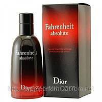 Чоловіча туалетна вода Dior Fahrenheit Absolute (чуттєвий деревно-орієнтальний аромат), фото 1