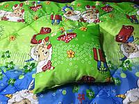 Детский антиалергенный набор в кроватку одеяло + подушка