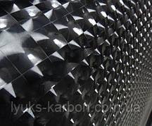 Пленка эффектом 4d CIRCLES черная с микроканалами