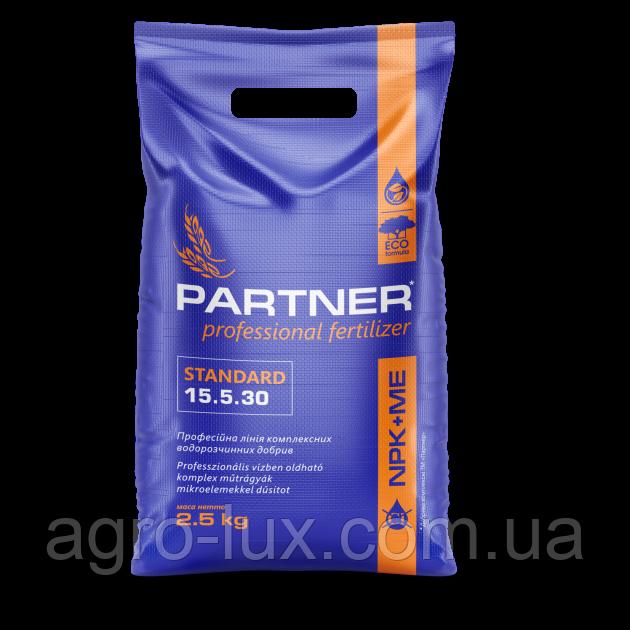 Минеральное удобрение Партнер/PARTNER STANDART NPK 15.5.30, 2,5кг