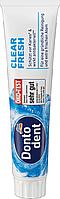 Зубная паста антибактериальная 125 мл Dontodent Clear Fresh