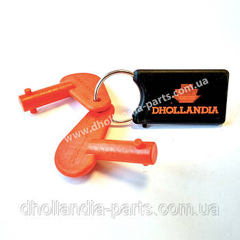 Ключ нового образца (2008..) включения замка основного питания пульта управления гидроборта Dhollandia (E2047)