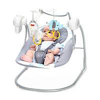 Детское кресло-качалка со звуковыми эффектами KinderKraft Minky mint