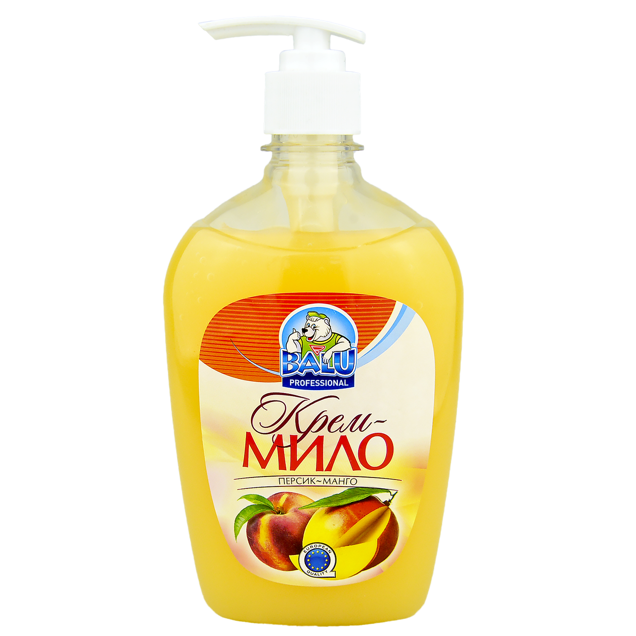 "Крем-мыло BALU® ""Персик-Манго"", 500мл, 24шт/ящ"