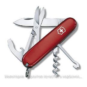 Ніж Victorinox Swiss Army Compact 1.3405 червоний (Vx13405), фото 2