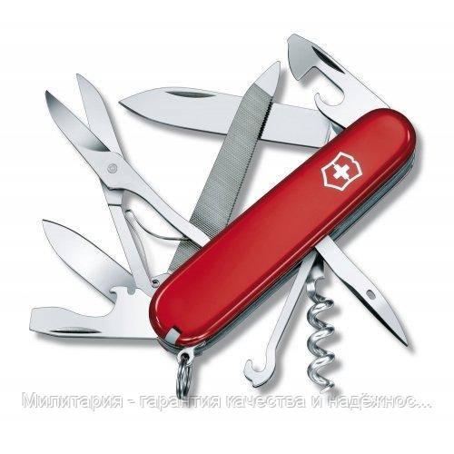 Ніж Victorinox Mountaineer 1.3743 червоний